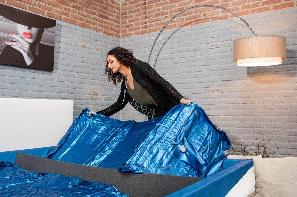 Een nieuw watermatras plaatsen? In 10 stappen een watermatras vervangen!